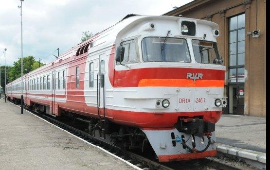 Начинает курсировать поезд Рига - Даугавпилс - Минск
