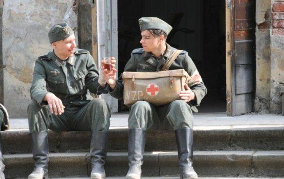 Кино и немцы в Крепости