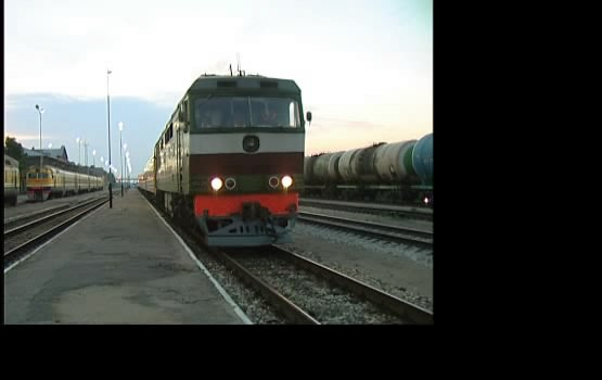 Открыт маршрут поезда Рига - Минск (видео)