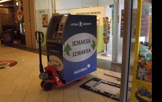 Начался демонтаж банкоматов Latvijas Krājbanka