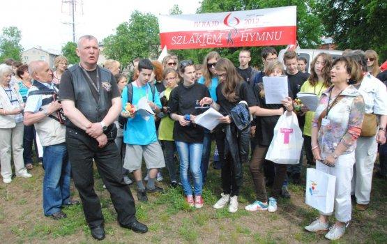 Байкеры привезли в Даугавпилс польский патриотизм