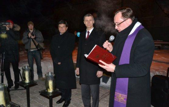 В Даугавпилсской крепости почтили память мятежных поляков