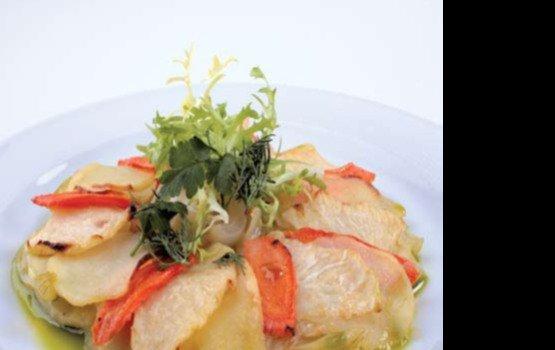 Рецепт от Валерия Ромацкого: Овощи гратен