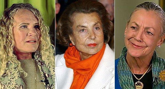 Названы самые богатые женщины