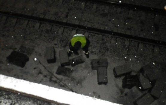 В вагоне с углём нашли нелегальные сигареты