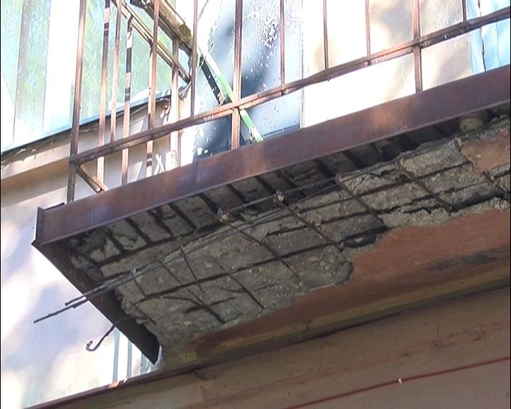 Смотрите на канале dautkom tv: опасные балконы будут ремонти.
