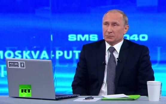 """ВИДЕО: Путин на """"прямой линии"""""""