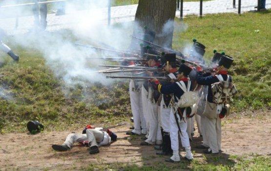 Фестиваль военно-исторической реконструкции удался на славу