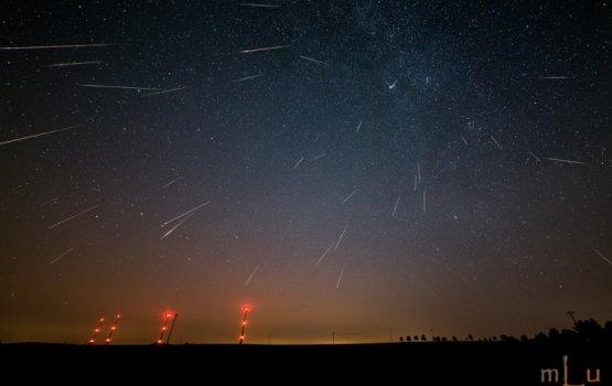 Ноябрь порадует жителей Латвии обильным звездопадом