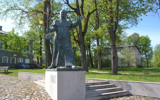 «Он добавил на наш латвийский герб третью звезду – Латгалию…»