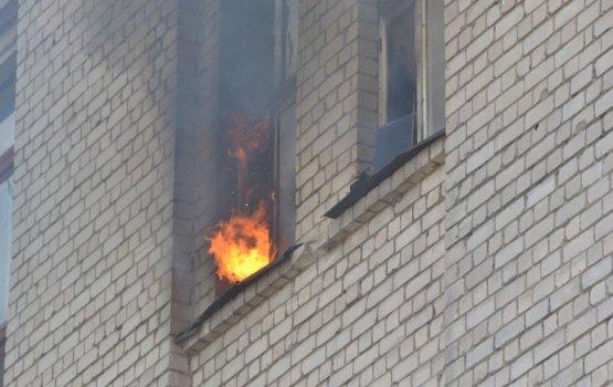 Фотофакт: пожар на Новом Строении