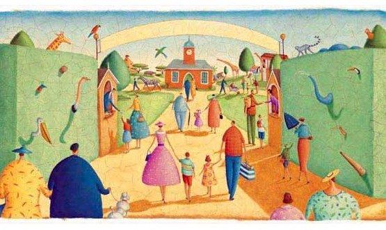 Ещё немного щедрости и дети увидят море и зоопарк!