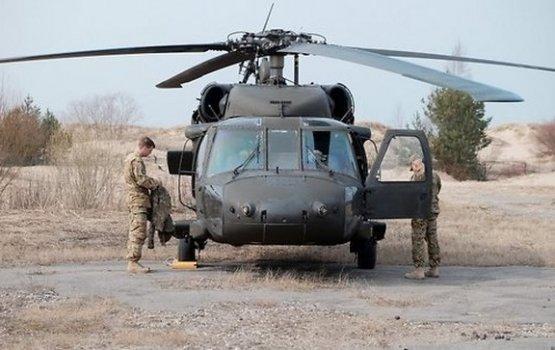 """США усилят безопасность Латвии пятью вертолетами """"Black Hawk"""""""