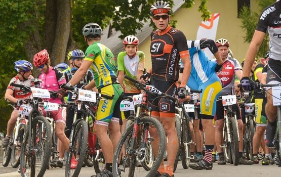 Свенте снова приглашает велосипедистов на МТВ марафон