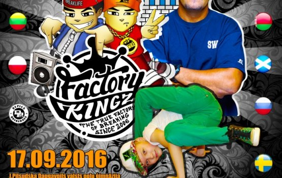 Factory Kingz приглашает на юбилей