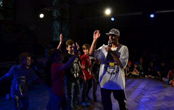 Мастерство даугавпилсских танцоров оценила мировая звезда хип-хопа