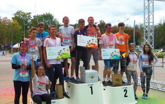 «Это был первый красочный забег в Латвии»