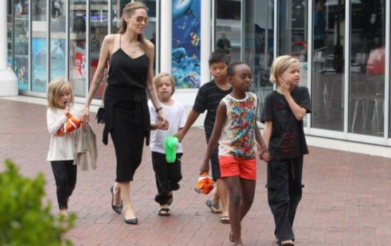 Джоли получила право опеки над детьми