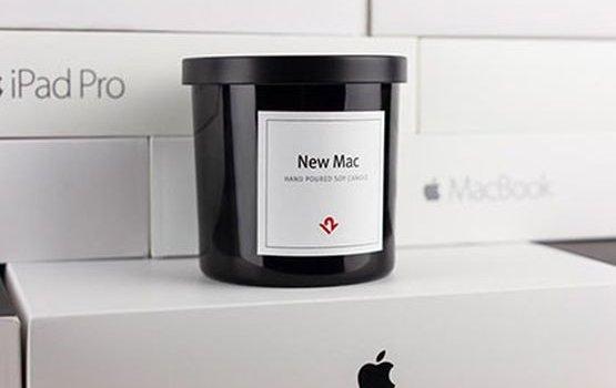 В США выпустили  свечу с ароматом новой техники Apple