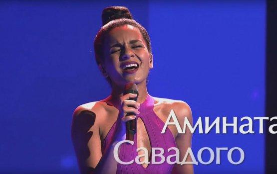 """Латвийская певица Амината добилась успеха в шоу """"Голос"""""""