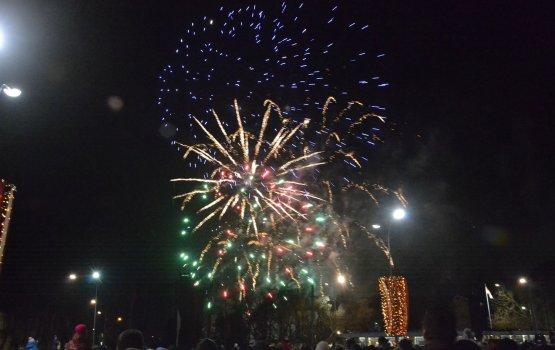 День независимости на площади Виенибас