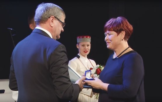 На мероприятии в честь Независимости ЛР вручены награды самоуправления