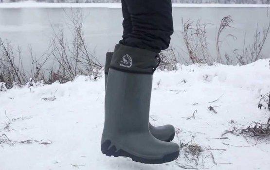 ЭВА – идеальная обувь для рыбацкого межсезонья