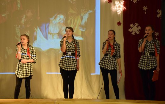 Поляки отпраздновали Рождество