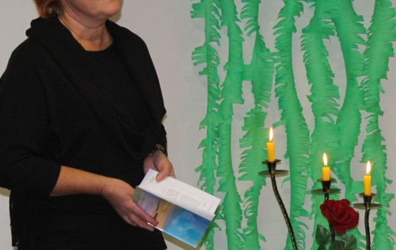 Baltkrievu namā pieskārās dzejas krastiem