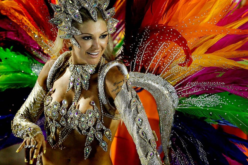 Шумный праздник вБразилии. ВРио стартует самый яркий вмире карнавал