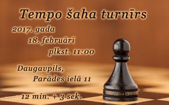 DAUGAVA CHESS приглашает любителей шахмат принять участие в турнире