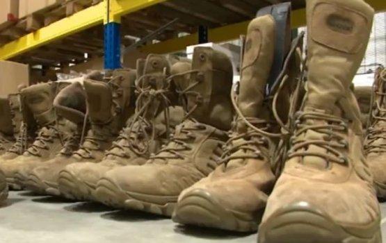 LTV7: латвийские военные жалуются на ботинки