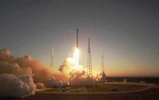 SpaceX впервые запустила однажды использованную ракету