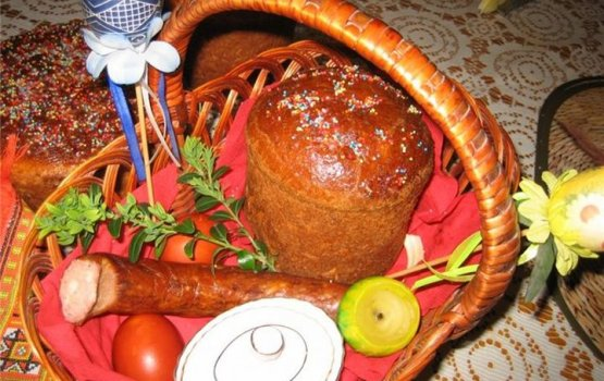 Какие продукты освящать в храме на Пасху