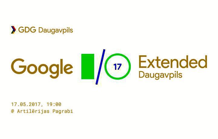 Прямая трансляция конференции Google I/О в Даугавпилсе