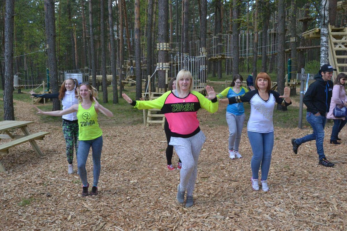 """Daugavpilī jauns tūrisma objekts – piedzīvojumu parks """"Daugavpils Tarzāns"""""""