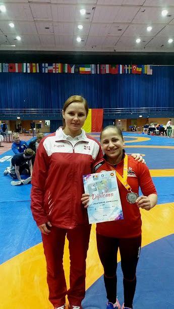 Ермаленок завоевала серебро в Румынии