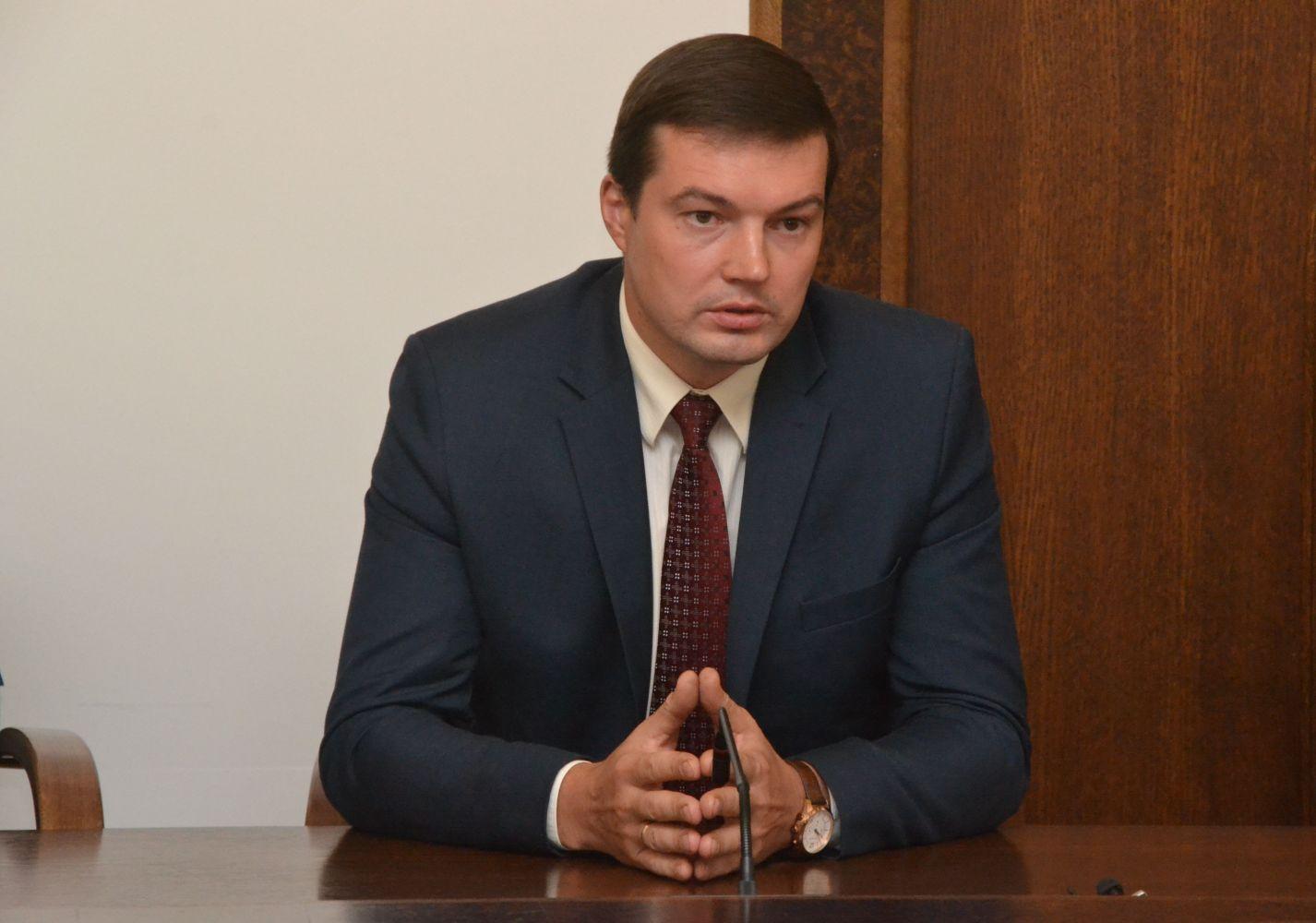 В прямом эфире вице-мэр Даугавпилса Петерис Дзалбе