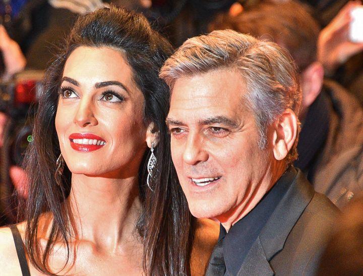 У Джорджа Клуни и его жены родились двойняшки - мальчик и девочка
