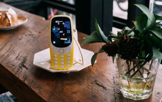 В Латвии в продажу поступил легендарный Nokia 3310