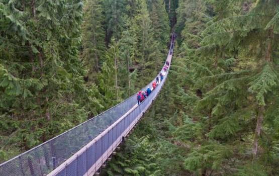 В Швейцарии открыли самый длинный в мире подвесной мост