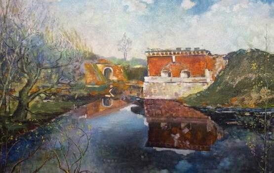 Выставка картин Николая Балаклейского «Мой город – Даугавпилс»