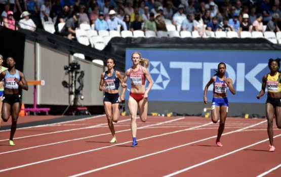 Гунта Латышева-Чударе – лучшая европейка на 400-метровке!