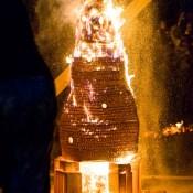 Крепость в огне