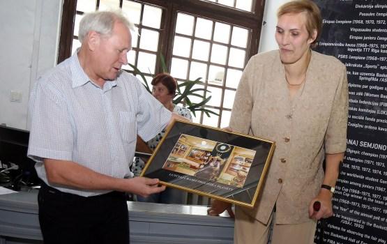 Выставка посвящается прославленной уроженке Медуми