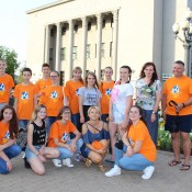 Танцы объединили молодежь трех стран