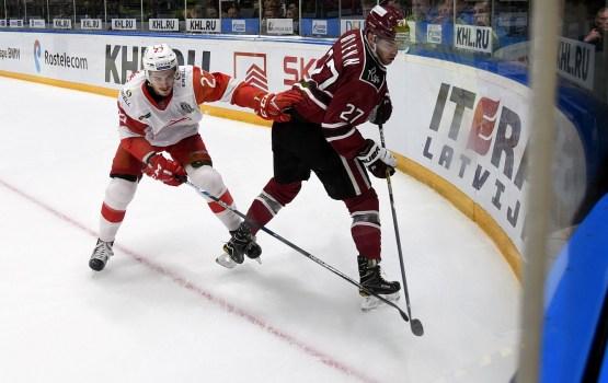 Хоккей: рижане провалили третий период