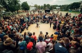 Чемпионы мира по брейку посетили город
