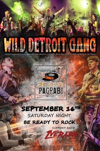 Wild Detroit Gang громко завершит свой сезон в Даугавпилсе