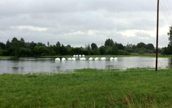 Дожди причинили Латгале ущерб в 4 млн евро